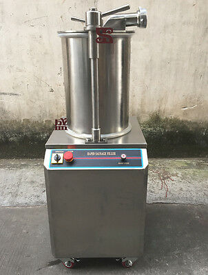 300KG/H Automatic Hydraulic Rapid Sausage Stuffer Sausage Filler Commerical Y