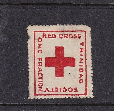 Trinidad One Fraction Red Cross Society Stamp