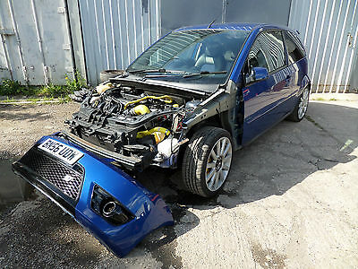 Ford Fiesta ST 150 mk6 Blue BREAKING SPARES MILLTEK side repeater clear 2006 .