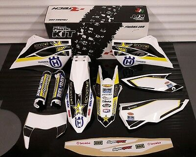 2015 Husqvarna Te Fe 125 250 300 350 450 500 Plastics And Graphics Kit