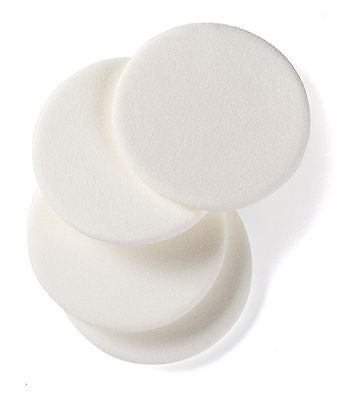 4 X Manicare Compact Puffs Make Up Sponges Foundation Pads *Top Quality*