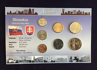 Malta Coin Set gemischt 33 Cents 2001-2006
