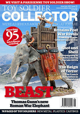 Toy Soldier Collector Magazine Issue 76 June/July 2017 New
