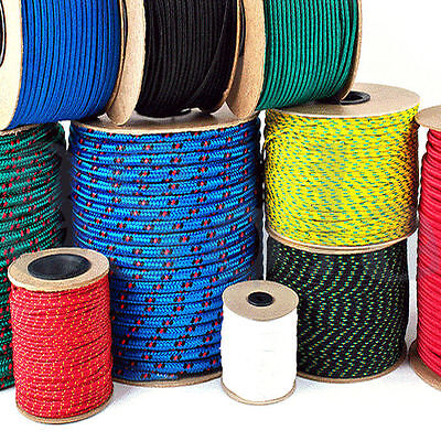 Polypropylene Rope Braided Poly Cord Line Sailing Boating Climbing Yach Camping
