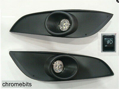 Led Fog Drl Daytime Running Fog Lights Set For Vauxhall Opel Astra H Mk5 07-09
