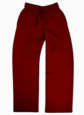 Kids Jogging Bottoms Boys Pants Joggers Tracksuit School Pe Childrens Sweat New