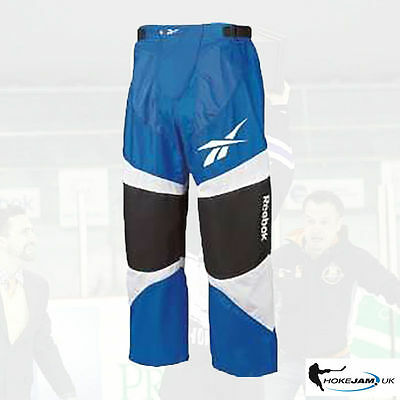 Reebok 5K Inline Hockey Pants Colour- Blue/White/Black Size Senior Hokejam.lv