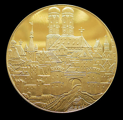 1958 Gold Germany 3 Ducat Munich 800Th Anniversary Commemorative Proof Coin
