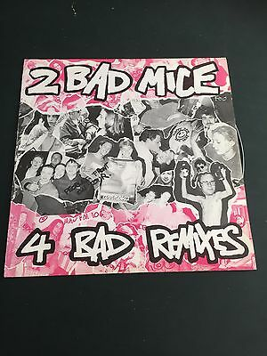 2 Bad Mice - 4 Bad Remixes. Bombscare, Hold It Down. Near Mint Copy. 1992 Biggie