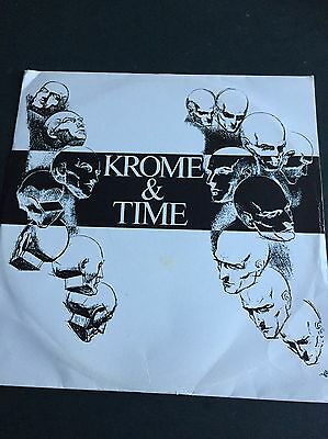 Krome & Time - This Sound Is for The Underground. 1992. Amazing Copy.