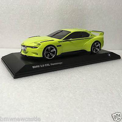BMW Genuine  1:18 scale diecast model  3.0 CSL  One Of The Hommage Collection