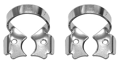 2 pc Rubber Dam Clamp for lower and upper molars TOR VM (#7)