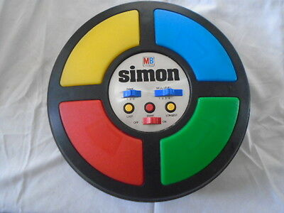 Vintage 1978 MB Simon Electronic Memory Game Full Size VERY GOOD CONDITION