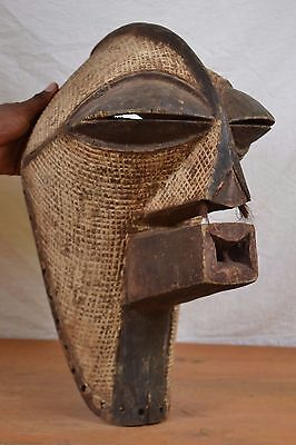 African tribal Art mask,very old rare songye  Mask from KONGOLO DRC