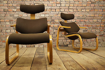 60er RELAX SESSEL DANISH MODERN RETRO EASY CHAIR VINTAGE RYBO RYKKEN 1/2