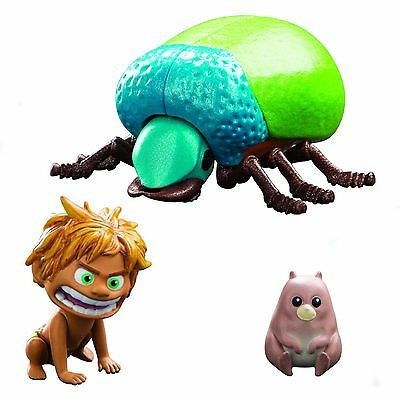 THE GOOD DINOSAUR action figure SPOT and BEETLE in blister by GIOCHI PREZIOSI