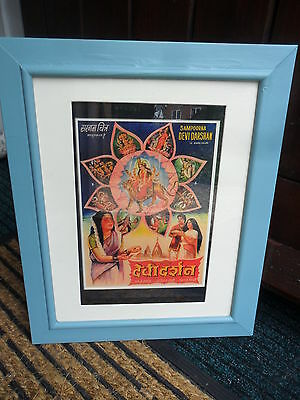 Bollywood Picture Poster And Framed Print