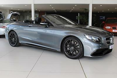 Mercedes S Class Amg S 63 Convertible 5.5 Automatic Petrol