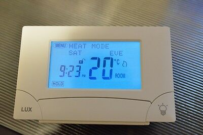 Lux TX9000TS Touch Screen-Seven Day Programmable Thermostat