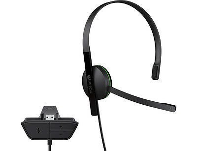 Brand New Official Genuine Microsoft Xbox One Chat Headset Uk Seller Fast Post