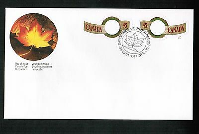 CANADA 1995  GOLD GREETING STAMPS CPC pack 1 FDC**  # 1568-9  Lot 514
