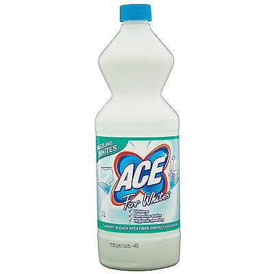 ACE for Whites Laundry Hygienic Stain Remover, Whitens & Protects Fibres - 1 L