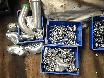 job lot stainless steel xpress pipe fittings