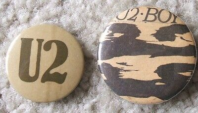 U2 badges (Boy LP era)