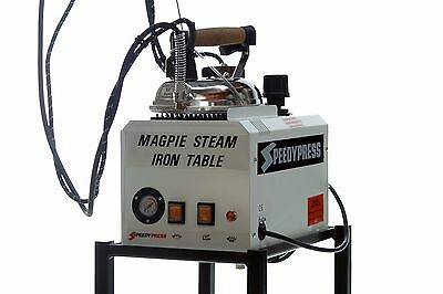 Magpie 5-litre British Ironing Boiler, Iron, Trolley, Ironing Shoe, Drain Bottle