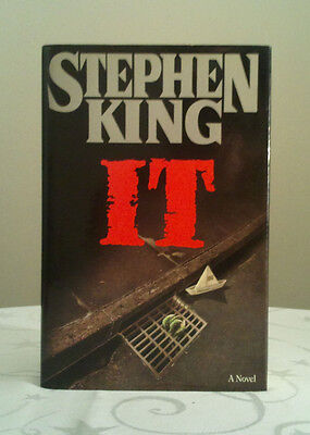 IT by Stephen King (Hardback, 1986) U.S. 1st/1st