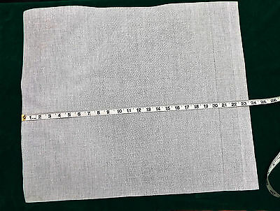 White Zweigart Tapestry Canvas 10 Count  51 X 61 / 20 X 24 Needlepoint