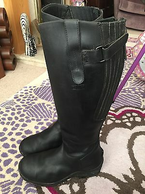 Toggi Calgary Riding Boots Size UK 5 Wide
