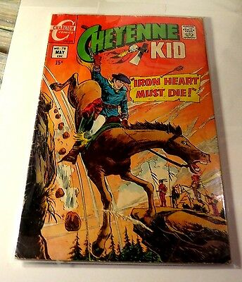 Cheyenne Kid #78 Charlton Comics Early Bronze Age CB2032