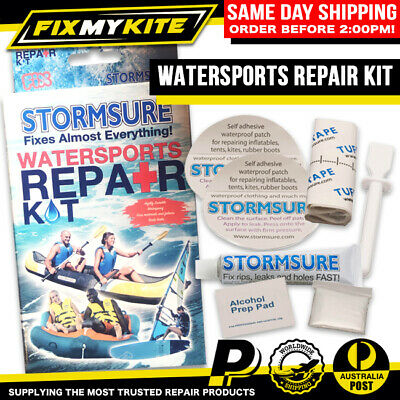 Water Sports Repair Kit - Sails, Kites, Bladders, Wetsuits, Booties