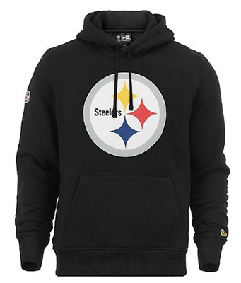 Pittsburgh Steelers New Era Team Logo Hoodie