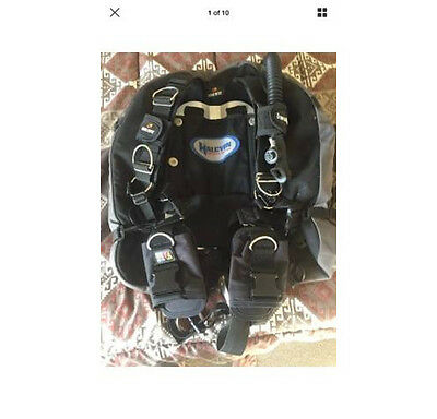 Dive Rite EXP Wing and Harness w/ Halcyon Backplate