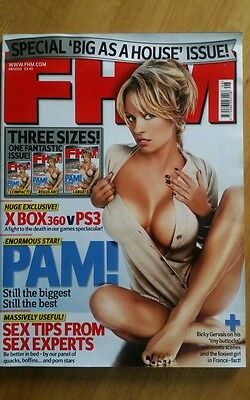 Pamela Anderson Magazine Immaculate FHM August 2005 (Extra Large Format Issue)