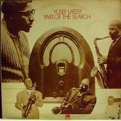 YUSEF LATEEF - PART OF THE SEARCH - LP Unplayed