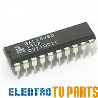 GAL16V8D-15LP DIP-20 Integrated Circuit from Lattice