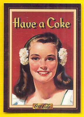 Year 1945: Coca-Cola Girl & Have A Coke, 1994 Coca-Cola Series 3 Card #201