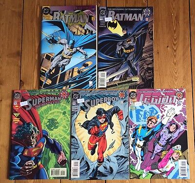 DC Comics Job Lot x 5 - Batman / Superman / Superboy #0 Batman #500