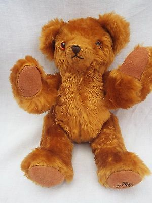Robin Rive Collectable Jointed Golden Teddy Bear