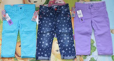 Girl's 4-5 Years NEW Jeans Trousers Bundle/Joblot