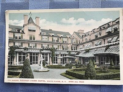 Postcard Gedney Farm Hotel White Plains, New York Open all Year