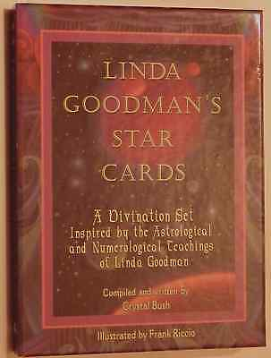 LINDA GOODMAN'S Star Cards Divination Set Inspired by Astrology & Numerology