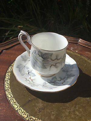 Royal Albert SILVER MAPLE , COFFEE CUP and SAUCER
