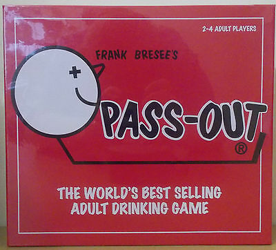 Pass Out ~ Adult Drinking Board Game