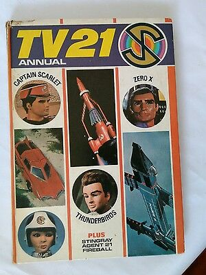 Vintage Tv 21 Annual 1968 - Thunderbirds, Stingray, Fireball