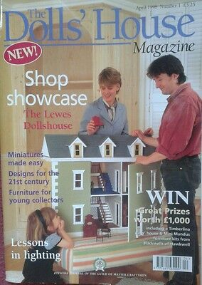 The Doll's House Magazine April 1998 Issue Number One