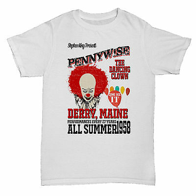IT STEPHEN KING PENNYWISE HORROR CHRISTINE FILM MOVIE CULT CLASSIC T Shirt
